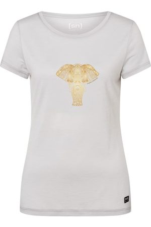 Supernatural Kvinna T-shirts - Women's Yoga Power Elephant