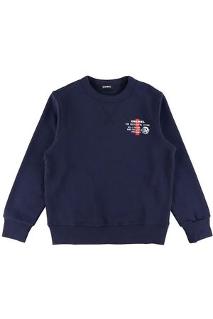 Diesel Pojke Sweatshirts - Sweatshirt - SWILLYZ - Marinblå