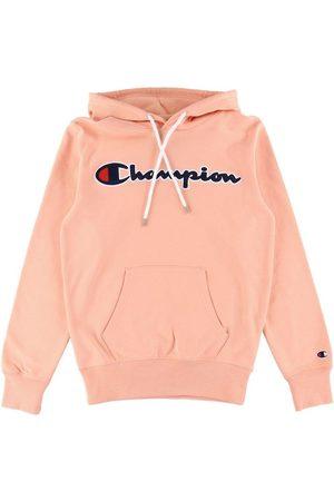 Champion Hoodies - Fashion Hoodie - Korall m. Logo