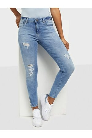 Noisy May Nmkimmy Nw Ank Zip Jeans AZ093LB Bg Slim