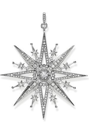 Thomas Sabo Kvinna Halsband - Hängsmycke Royalty stjärna silver