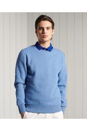 Superdry Man Sweatshirts - Orange Label klassisk rundhalsad sweatshirt