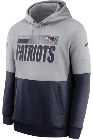 Nike Man Hoodies - Huvtröja Therma Team Name Lockup (NFL New England Patriots) för män