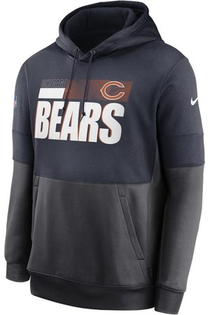 Nike Man Hoodies - Huvtröja Therma Team Name Lockup (NFL Chicago Bears) för män