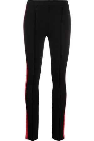 Karl Lagerfeld Contrast knit leggings