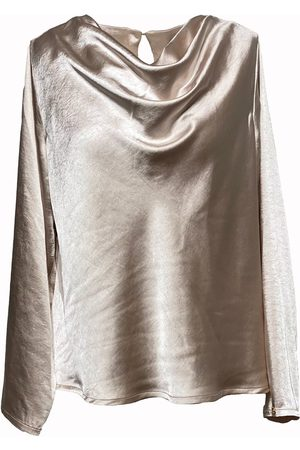 Noor of Sweden Isabelle waterfall blouse