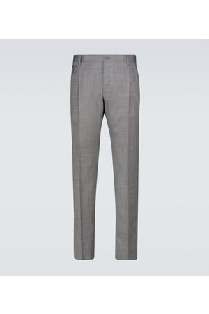 adidas Double-pleated wool pants