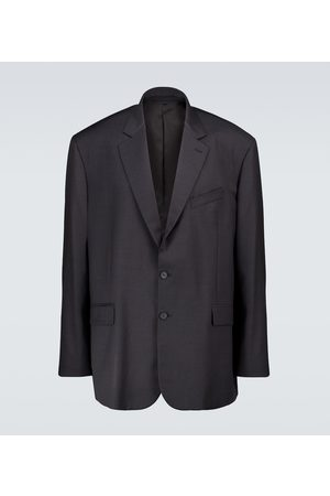adidas Wool single-breasted blazer