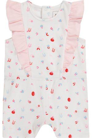 adidas Baby printed cotton playsuit