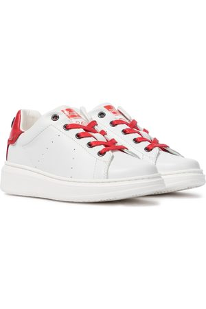 adidas The Tennis Shoe leather sneakers