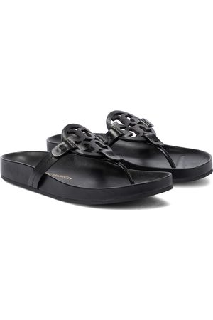 adidas Miller leather thong sandals