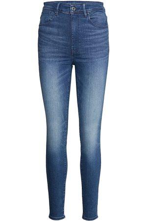 G-Star Kafey Ultra High Skinny Wmn Skinny Jeans Grå