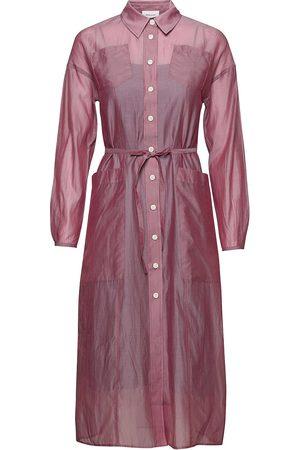 adidas Kvinna Midiklänningar - Bethany Cotton Silk Dress Knälång Klänning