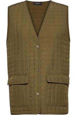 adidas Slfginna Sl Quilted Vest Ex Vests Padded Vests
