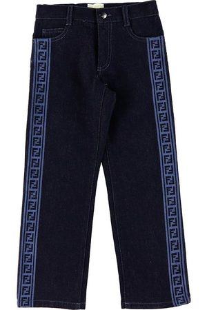 Fendi Jeans - Mörkblå Denim m. Logoband
