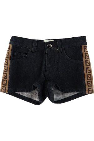 Fendi Shorts - Denim m. Logoband