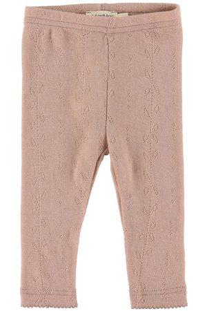 Marmar Copenhagen Flicka Leggings - Leggings - Leg - Ull - Burnt Rose
