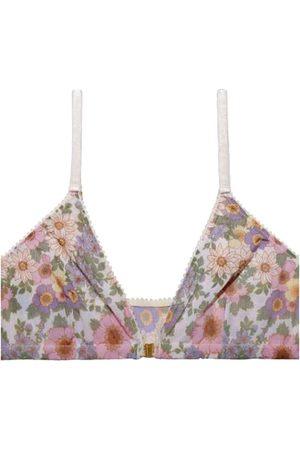 Underprotection Rania Floral Print Triangle Bra