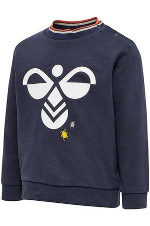 Hummel Sweatshirt - hmlCarl - Marinblå