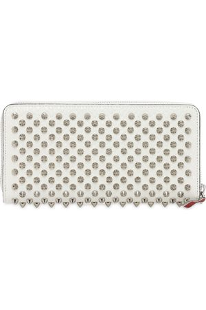 Christian Louboutin Panettone Leather Spikes Zipped Wallet
