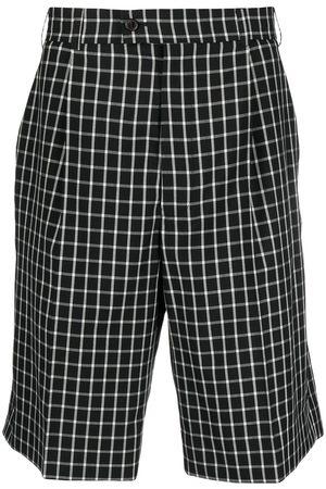 Vivienne Westwood Rutiga knälånga shorts med hög midja