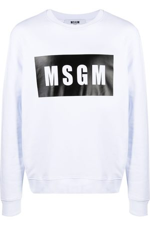 Msgm Man Sweatshirts - Tröja med logotyp