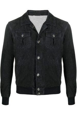 BARBA Skjortjacka i läder