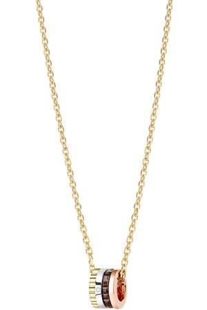 "Boucheron ""Quatre diamanthalsband i 18K gult, rosé och vitguld"""
