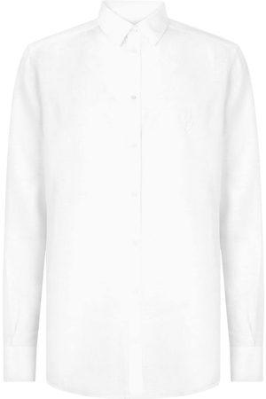 Dolce & Gabbana Linneskjorta med knäppning