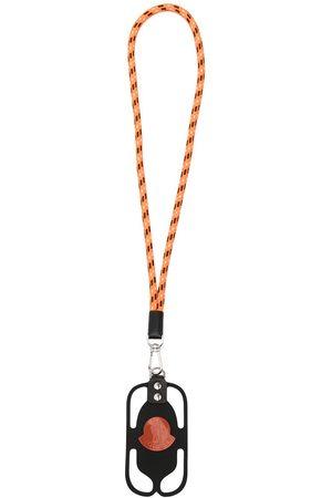 Moncler Mobilskal - Telefonfodral med nyckelband och logotyp