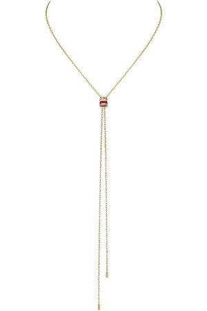 Boucheron Quatre Red Edition diamanthalsband i 18K gult