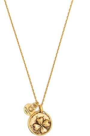 Goossens Kvinna Halsband - Talisman halsband med fyrklöver