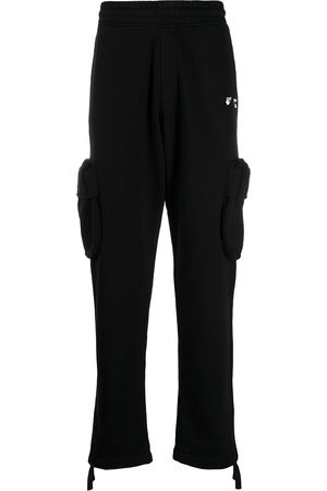 OFF-WHITE Cargotrackpants med logotyp