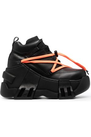 Swear Amazon platåsneakers i läder