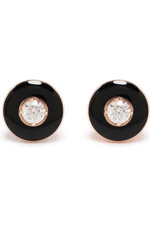 SELIM MOUZANNAR Mina diamantörhängen i 18K rosé