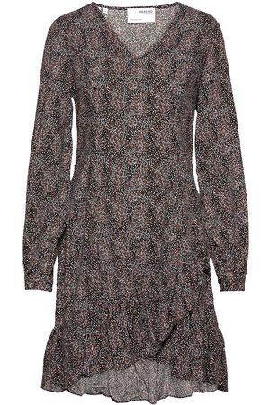Selected Slfmabel 3/4 Short Dress M Kort Klänning