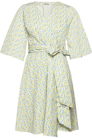 Ivana Helsinki Elvi Dress Dresses Wrap Dresses Multi/mönstrad