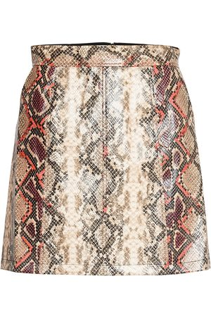 French Connection Bonnie Pu Skirt Kort Kjol Multi/mönstrad