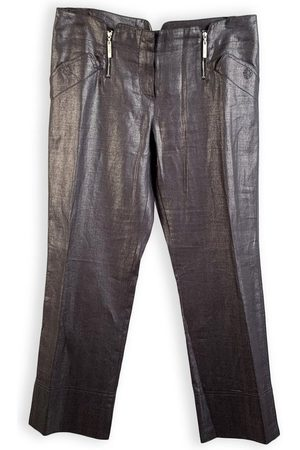 Dior Linen Cropped Pants Trousers Size 44 IT