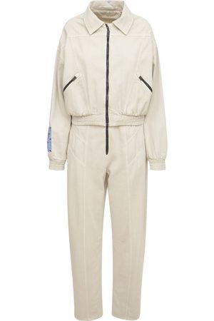 McQ Fantasma Cotton Blend Jumpsuit