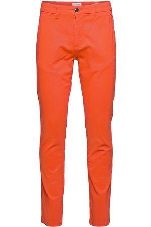 Lindbergh Superflex Chino Pants Chinos Byxor Grå