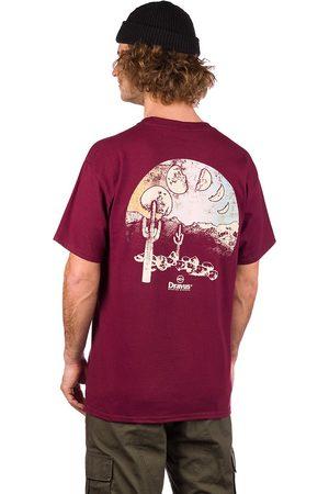 Dravus Man Kortärmade - Many Moons T-Shirt maroon