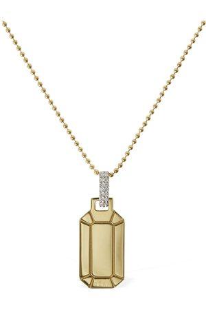 Eera Kvinna Halsband - Small Tokyo 18kt Gold & Diamond Necklace