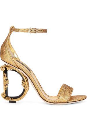 Dolce & Gabbana Sandaler med skulpterade höga klackar