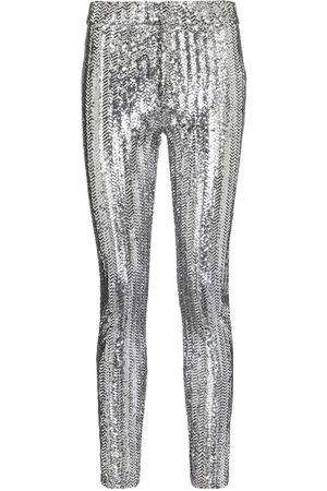 Isabel Marant Todiz sequined high-rise skinny pants