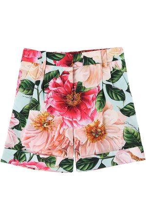 Dolce & Gabbana Flicka Shorts - Shorts - m. Blommor