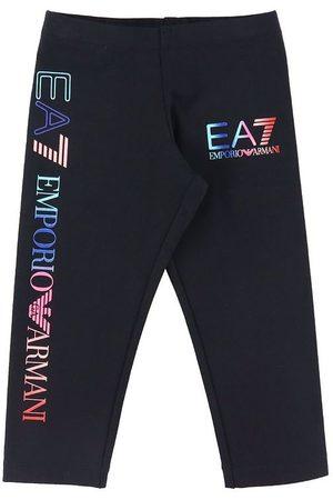 EA7 Flicka Leggings - Leggings - m. Logo