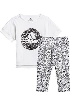 adidas Träningsset - Leggings/T-Shirt - /