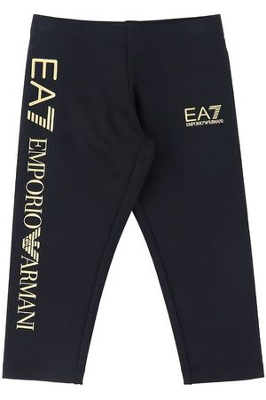 EA7 Flicka Leggings - Leggings - m. /Logo