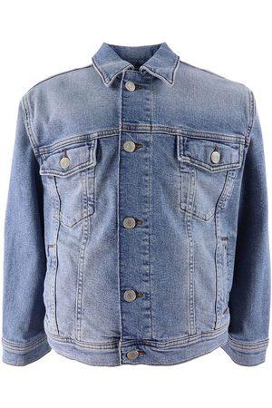 GANT Jeansjacka - Crest - Light Blue Vintage